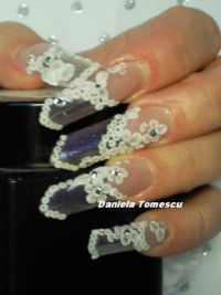 Acryl Nails-edge form Acrylnägel