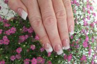 french-nails Acrylnägel