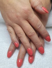 Shellac Fullcover Coral Acrylnägel