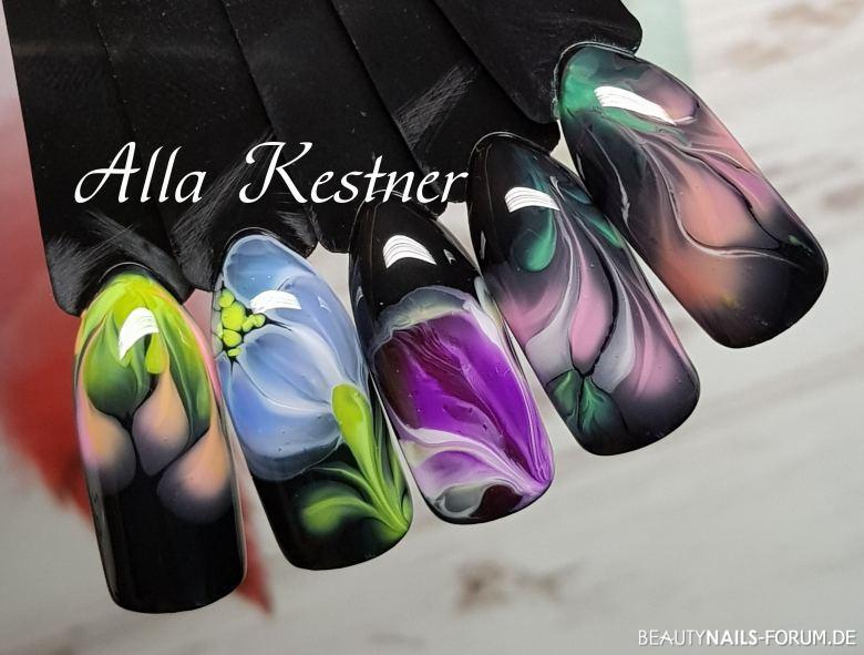 Sommerblumen Nails