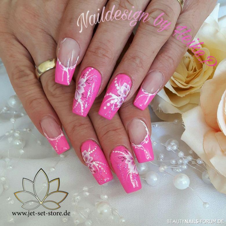Sommer Design in rosa