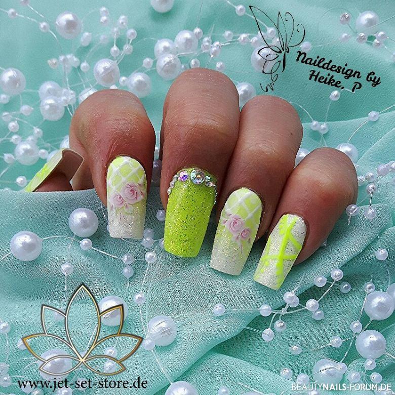 Frühlingsdesign mit frischen Farben