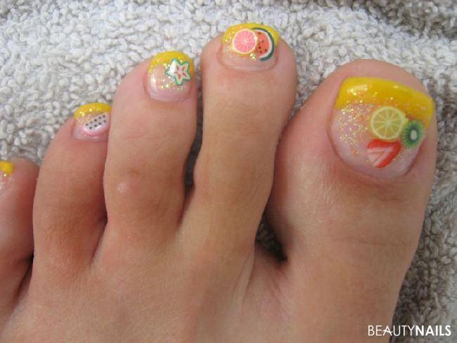 Schöne Sommer Füße