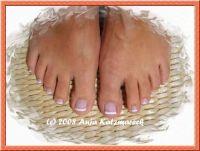Fußnagelmodellage Füsse
