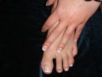 Hand und Fuß Füsse