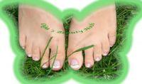 Schlichtes Fußfrench Füsse