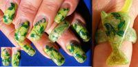 Caipi Nägel und Nail Art Ring zusammen Gegenstände