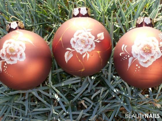 Weihnachtskugeln selbst bemalt gegenst nde - Bilder weihnachtskugeln ...
