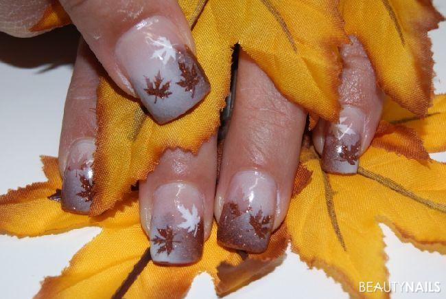Airbrush Herbstnägel