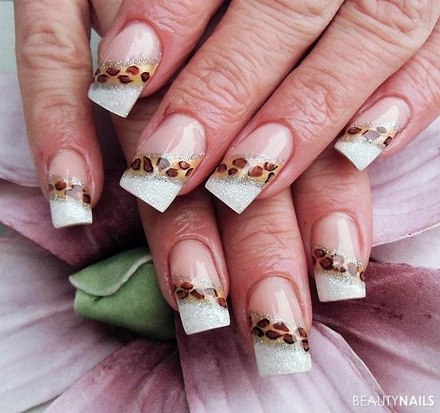 50 French Manicure Bilder Mit Nageldesign