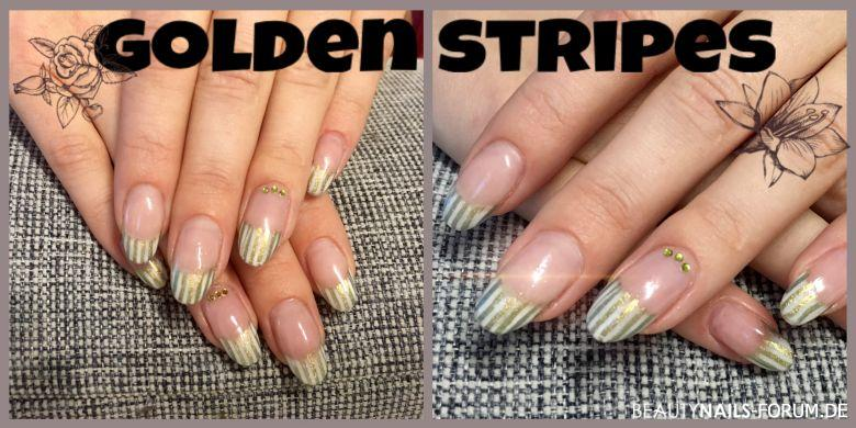 golden stripes - Frenchdesing & Stamping