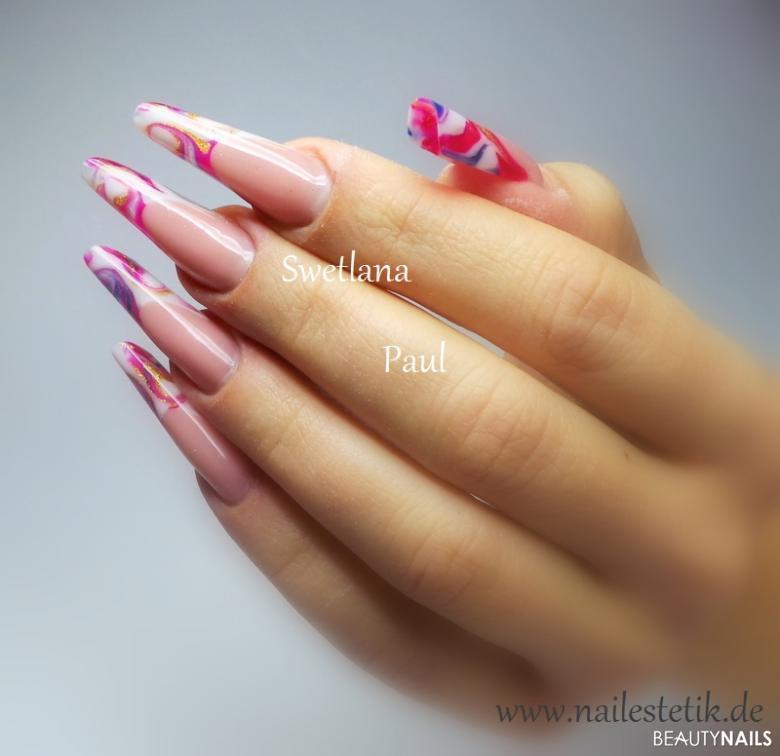 Moderne Mandelform künstliche Fingernägel