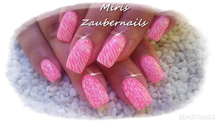 pink mit Stamping