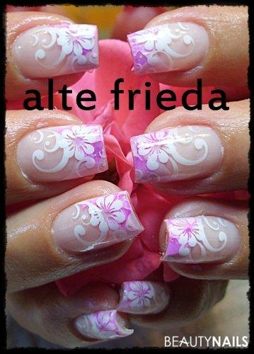 Rosa Gelnägel - AB,Schabi von Brush it com Nail code Nailart