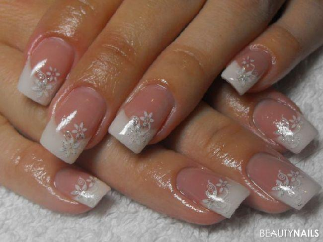 schlichtes nageldesign geln gel