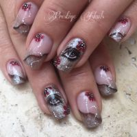 Herbstnagel Nageldesign 2018 150 Herbst Nailart Ideen