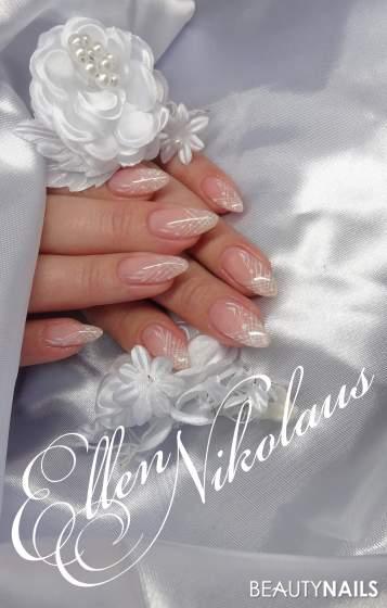 dezent Hochzeitsnägel Hochzeitsnägel - Willa Nails Gel...Akrylfarben...Trend Nails Glanz Gel Nailart