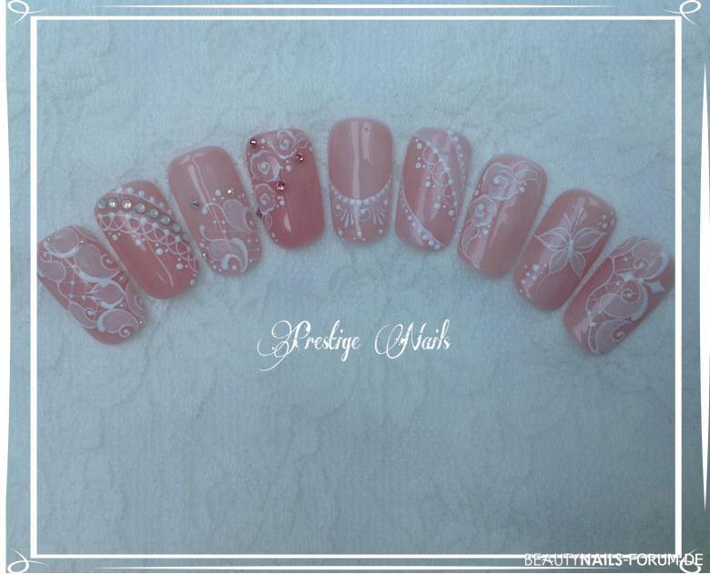 Hochzeits - Nail-Design