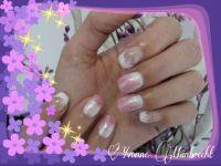 Rosa Pastell Hochzeitsnägel
