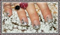 3D Stempel Nageldesign