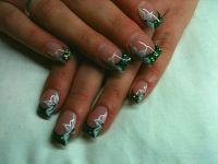 4d gel blumen Nageldesign