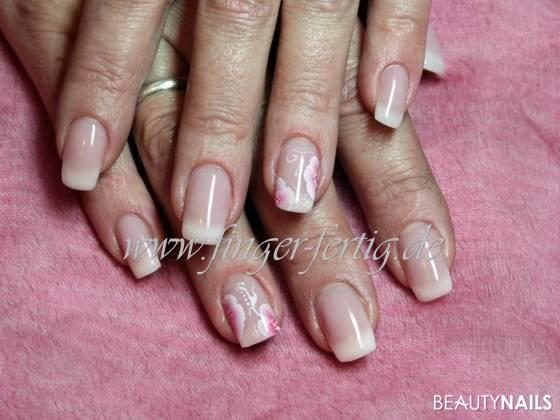 Babyboomer ws One Stroke Nageldesign