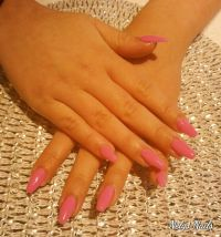 Ballerinas in Magenta - Fullcover Nageldesign