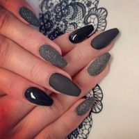 Black Ballerina Nageldesign