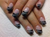 black Nageldesign