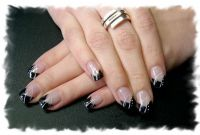 Black & White Nageldesign
