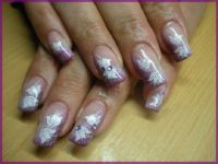 blumen Nageldesign