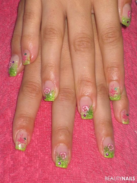 * Blumenwiese * Nageldesign -  Nailart