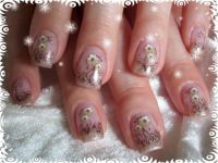 blumig Nageldesign