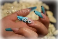 Bow Nails Nageldesign