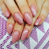 Dezentes Fullcover in Dark Rose Nageldesign