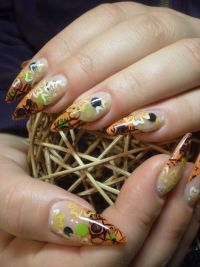 Farbenfroh Nageldesign