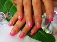 French pink Nageldesign
