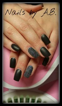 Fullcover acrylmodellage und Gel mit Sugar Nageldesign