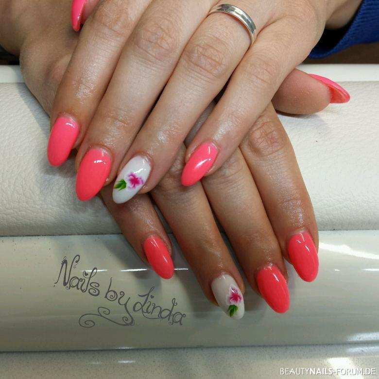 Fullcover neon Coral
