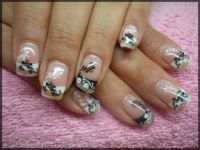geteiltes french? Nageldesign