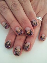 golden nugget Nageldesign