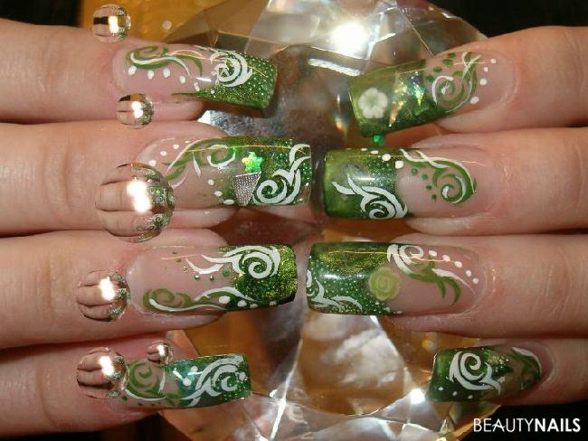 Green things Nageldesign - hier ist alles drin   Nailart