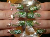 Green things Nageldesign