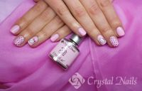 Hello Kitty Design in rosa Nageldesign