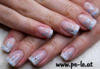 ice flower www.pe-le.at Nageldesign