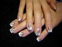 leoparde Nageldesign