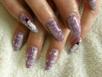 let it snow Nageldesign