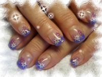 lila lila:-) Nageldesign