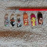 Looney tunes Nageldesign