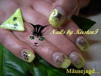 Mäusejagd Nageldesign